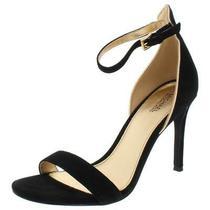 Michael Michael Kors Womens Harper Black Heel Sandals  9 Medium (Bm)  5371 Photo