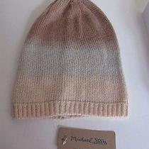 Michael Stars Blush Gray Taupe Ombre Slouch Hat Nwt 30 Photo