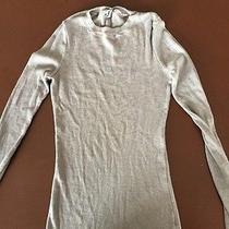 Michael Stars Gray Fitted Shirt Photo