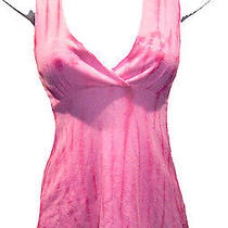 Michael Stars Shine Halter Top One Size Nwt Pink Tie Dye Knit New Photo