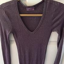 Michael Stars Shine Knit v Neck Top Photo