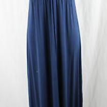 Michael Stars Women's Navy Blue v Neck Maxi Dress Size 1 Photo