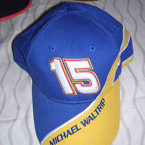 Michael Waltrip 15 Napa Racing Nascar  One Size Fits All Hat Made by Winners Ci Photo