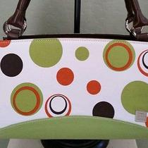 Miche Classic Shell - Joie - Mb1077 - Fabric White/lime Green W/ Circles Photo