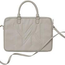 Miche Laptop Case Sleeve Bag  Celine  New  Dove Grey Adjust. Strap  40% Off Photo