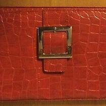 Miche Purse Classic Shell Cover Ellie Red Croc Patent Faux Leather Buckle Photo