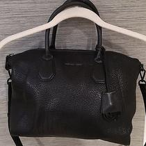 Micheal Kors Campbell Large Satchel Black Photo