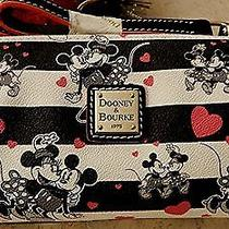 Mickey and Minnie Mouse Sweethearts Mini Barrel Bag by Dooney & Bourke Photo