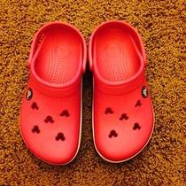 Mickey Crocs Photo
