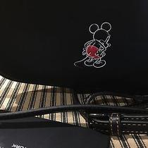 Mickey Crossbody Clutch in Glovetanned Leather Black / New Photo