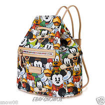 Mickey Mouse and Friends Faces  Backpack by Dooney & Bourke New  Photo