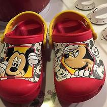 Mickey Mouse Crocs Photo