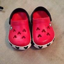 Mickey Mouse Crocs Size 4/5 Photo