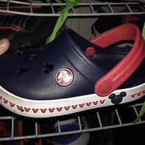 Mickey Mouse Crocs (Size 9) Photo