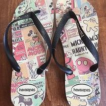 Mickey Mouse Havaianas Flip Flops Men's Size 11/12 Photo