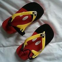 Mickey Mouse Havaianas Size 8 Toddler Sandal Photo
