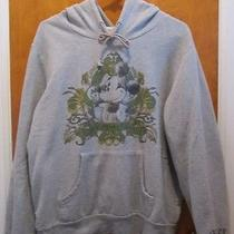Mickey Mouse Hooded Sweatshirt - Juniors Size Xl - Avon - Gray  Photo
