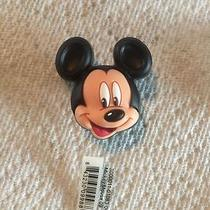 Mickey Mouse Jibbitz Mickey Mouse Shoe Charm Fits Crocs Large 3d Mickey Jibbitz  Photo