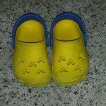Mickey Mouse Toddler Crocs Size 4-5 Photo