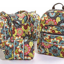 Mickey's Perfect Petals Lg Backpack- Disney Collection by Vera Bradley Preorder Photo