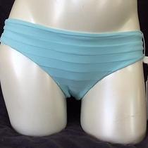 Mikoh Swim Tamarama Banded Boy Short Cheeky Bikini Bottom Blue Sold Out (M) Nwt Photo