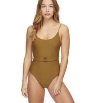 Mikoh Swimwear Mila One Piece Color Mud Nwt Size Extra Large  Photo