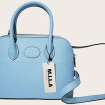 Mila Made in Los Angeles Audrey Bag Purse Blue Mint New Nwt Msrp 495 Free Ship Photo