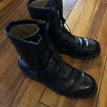 Military Addison Black Boots 10 1/2 10.5 1974 5031 Photo
