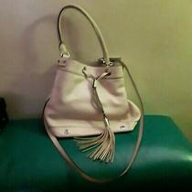 Milly Handbag Pink Drawstring Bucket Bag Blush Nwt Leather Paid 272.63 Amazon Photo
