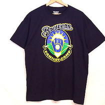 Milwaukee Brewers Fantasy Camp Blue Graphic T-Shirt / Mens Xl / Excellent / B11 Photo