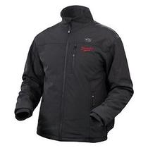 Milwaukee Elements Heated Jacket With Battery Large Black Mfg 2345-L Photo