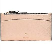 Mimco Sublime Slim Wallet Rose Gold Leather Authentic Bnwt rrp99.95 Photo
