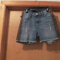 Mini Jean Shorts Size 0 Rock & Republic Color Blue Jean  Other  98% Cotton Nwt Photo