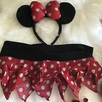 Mini Mouse Sexy Costume 4 Express Dress Up Hot Micro Skirt Ears Polka Disney Photo