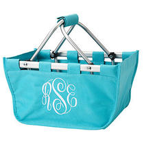 Mini Personalized Monogrammed Market Tote Photo