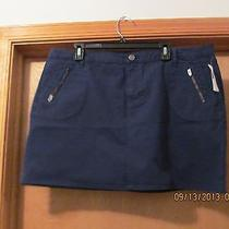 Mini Skirt Size 10 Gap Color Navy Nwt Photo