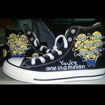 Minions Converse  Hand Painted Shoes Photo