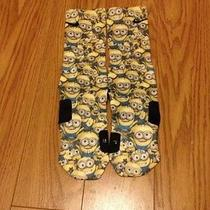 Minions Custom Elite Socks Photo