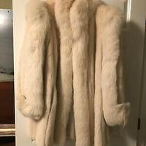 Mink/fox Fur Stroller Coat. Blush Dyed With Blush Dyed Fox Trim. Valued  4500 Photo