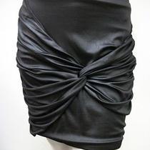 Mink Pink Black Zipper Mini Skirt Style Mp2191i Size S New Nwt Photo