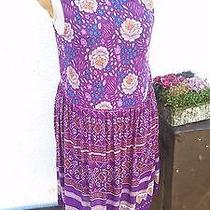 Minkpink Floral India Cotton Gauze Grunge Style Dress Photo