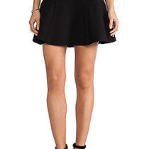 Minkpink - Love Game Flippy Mini Skirt Black (Xs) - Msrp 70 Photo