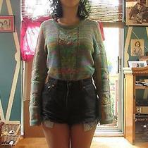 Minkpink Multi-Colored Acrylic Sweater Size M  Photo