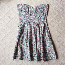 Minkpink Strapless Floral Dress Photo