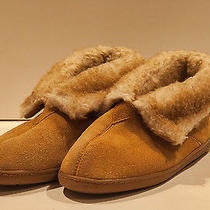 Minnetonk Women's Moccasins Slippers Leather Suede Size 7 1/2 - 8 Photo