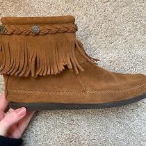 Minnetonka Ankle Boots Size 8 Euc Photo
