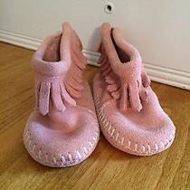 Minnetonka Baby Moccasins Size 1 Photo