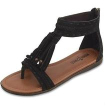Minnetonka Belize Black Sandal Size 7 Photo