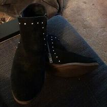 Minnetonka Black Booties Size 8 Photo