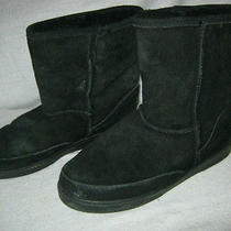 Minnetonka Black Fur Boots Photo